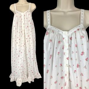 XS Victoria's Secret Cotton Nightgown Rosebud